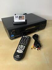 JVC HR-VP652U HI FI STEREO  4 HEAD VHS VCR--TESTED