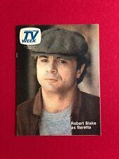 """1976, Baretta (Robert Blake), """"TV Week"""" Guide (Scarce)"""