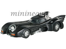 HOT WHEELS BLY51 1992 BATMAN RETURNS 1989 BATMOBILE 1/24 DIECAST MICHAEL KEATON