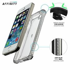 Poetic Affinity Premium Thin Protective Bumper Case For iPhone SE / 5 / 5S Clear