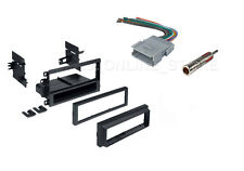 SINGLE DIN FOR GENERAL MOTORS WIRE HARNESS & ANTENNA STEREO INSTALL DASH-KIT