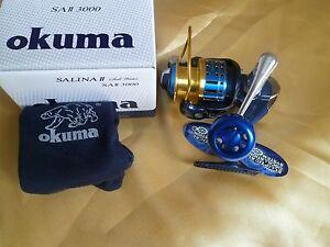 Okuma SALINA II 3000 Saltwater Fishing Spinning Reel /23kg drag