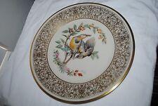 "1973 Lenox 10.5"" plate, Boehm Birds, Meadlowlark, Mib, no Coa, #K2126"