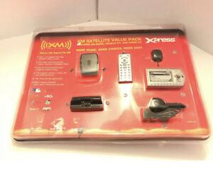 XM Satellite Radio Value Pack Xpress New Sealed Vehicle & Home Kit NEW