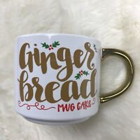 GINGERBREAD MUG CAKE COFFEE MUG STONEWARE INCLUDES GINGERBREAD RECIPE THRESHOLD