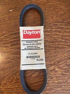 DAYTON 5L290 V-Belt,5L290 Fan Motor
