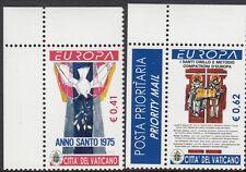 VATICAN :2003 Europa set  SG 1386-7 never hinged mint