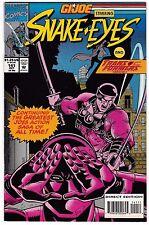 GI JOE #141 (NM-) High Grade! New Transformers Appearance! Marvel Comic 1993