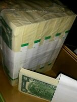 ✯Lot of 10 NEW Uncirculated Two Dollar Bills Crisp $2 Sequential Note 1976-2013✯