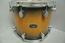 """PDP by DW 14"""" FS SERIES RACK TOM in SATIN TOBACCO BURST for YOUR SET! LOT #K228"""