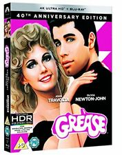 Grease 40th Anniversary 4k UHD BD Blu-ray