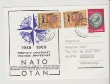 Handstamped Military, War First Day Cover European Stamps