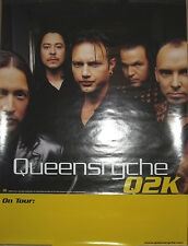 "Queensryche - Atlantic ""Q2K"" tour promotional poster, 1999, 18x24, Ex, metal"