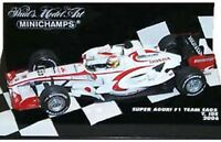 MINICHAMPS SUPER AGURI F1 model racing cars Sato Davidson Ide Montagny 1:43rd