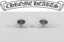 NEW Chrome Hearts Replacement Screw-in Nose Pads Eyeglasses Sunglasses Silver