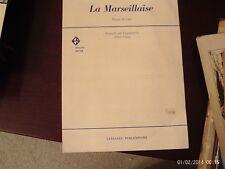 de Lisle, arr Gamse: La Marseillaise, piano solo (Larrabbee)