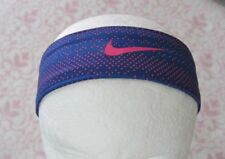 Nike Tapered Fury Headband Dark Navy/Hyper Pink Adult Unisex OSFM - New