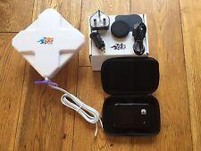 Mobile Wifi Mifi Kit - 4G unlocked hotspot & antenna  - motorhomes & caravans