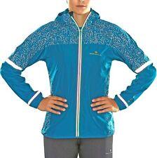 Ronhill Life Nightrunner Womens Running Jacket - Blue