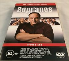 THE SOPRANOS - THE COMPLETE FIRST SEASON - 6 DISC DVD SET AS NEW Region 4