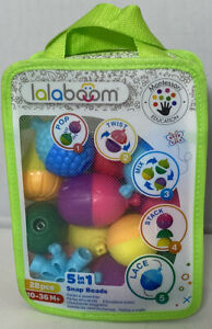 Lalaboom 5-in-1 Snap Beads 28 Piece Set / Perfect Gift Idea
