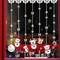 2017 Christmas Snow Ball Removable Vinyl Window Door Wall Stickers Decal Decor