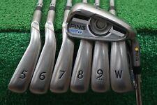 Ping G Series Yellow Dot Irons 4-PW Iron Set Regular Flex Steel AWT 2.0 629330