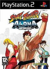 Street Fighter Alpha Anthology For PS2 (New & Sealed)