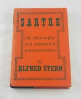 Sartre: His Philosophy ; Alfred Stern; Presumed first edition (NAP); Psychology