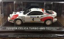 Ixo Altaya 1:43 Toyota Celica T4WD Carlos Sainz Rally Cataluña 1992