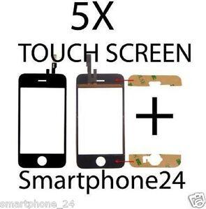 5 X TOUCHSCREEN GLAS Digitizer touch screen display für iphone 3G