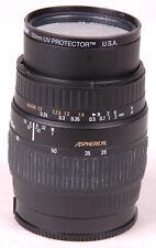 SIGMA ZOOM 28-80MM 1:3.5-5.6 55mm diameter, MACRO ASPHERICAL Lens-Photography