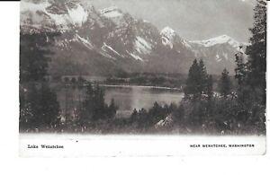 POSTCARD LAKE WENATCHEE NEAR WENATCHEE WASHINGTON