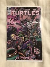 Tmnt 95 SDCC 2019 Exclusive 9.6/9.8 IDW Cover B Signed X3 Eastman, Waltz, Curnow