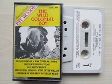PAT WOODS 'THE WILD COLONIAL BOY' CASSETTE, 1985 OUTLET RECORDS, RARE, TESTED.