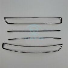 Fit For VOLVO XC90 2003-2014 Stainless Front Bumper Vent Refit Grille Cover 4PCS