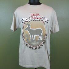 Foxworthy Redneck Wear Official Dear Deer Shirt Original Mens T-Shirt Tan Medium