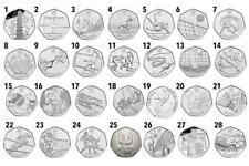 50P Coins ROYAL MINT BRITISH COIN HUNT RARE COLLECTABLE