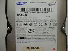 Samsung SpinPoint 80gb SP0802N BF41-00080A IDE