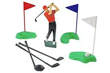 Plastic Golf Set (13 pieces) Birthday Cake Topper Decorations