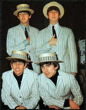 THE BEATLES POSTER PAGE . 1964 MORECAMBE& WISE SHOW .V12