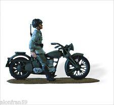 Lead Soldiers Motorcycle - BERSAGLIERE Rgt CELERE 3rd 1941 BENELLI 250 - Smi041