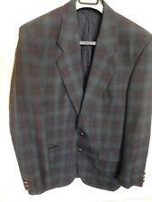 Men's Suit Jacket Tartan 38ins chest Centaur Original Wool polyester mix