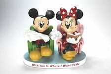 Mickey and Minnie Mouse 40th 50th Wedding Anniversary Figurine Engagement Disney