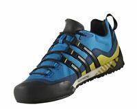 Adidas Herren Terrex Swift Solo Schuh Wanderschuhe Trekkingschuhe blau schwarz g