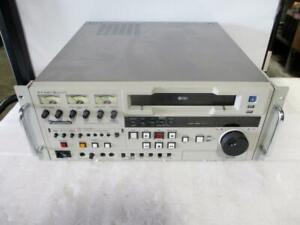 Panasonic AG-7750 Professional Video Cassette Recorder (H334)