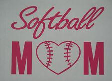 Love Children Sports Fastpitch Softball Mom Vinyl Decal