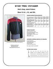 Star Trek Sewing Pattern - Starfleet uniform jacket - Voyager (men's)
