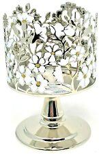 Bath & Body Works Daisy Wild Flower 3 Wick Candle Sleeve Holder Pedestal