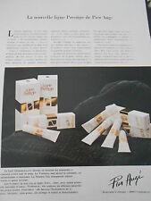 Publicité 1979  Pier Augé la nouvelle ligne de Prestige  French AD